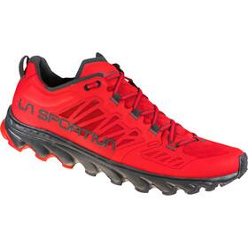 La Sportiva Helios III Running Shoes Men, goji/carbon